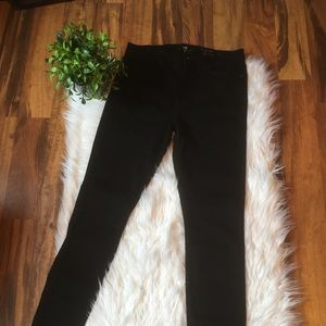 """Seven for all Mankind black jeans 32"""""""